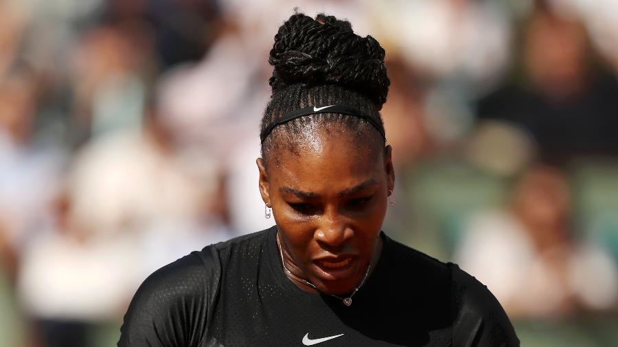 Serena Williams voltou às quadras em maio, comperindo em Roland Garros - Getty Images