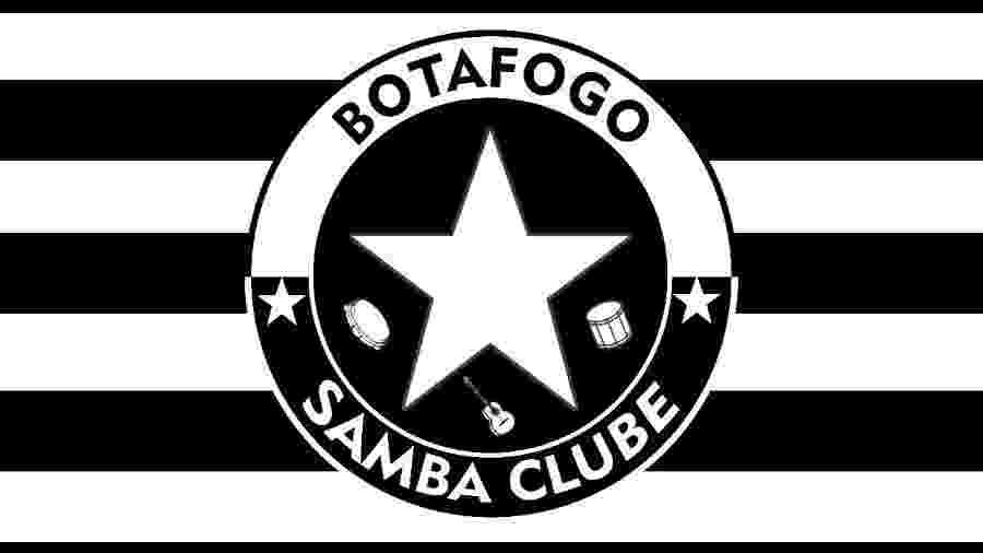 Logo da Botafogo Samba Clube - Divulgação