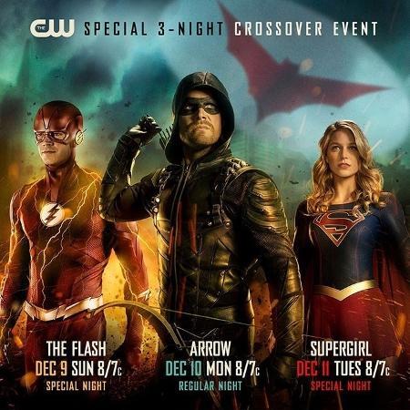 Datas de estreia de The Flash, Arrow e Supergirl - Divulgação