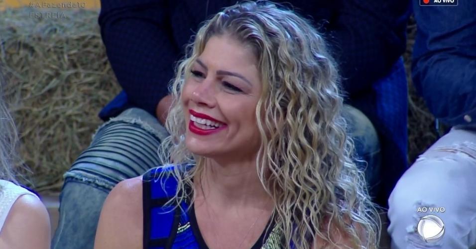 """Cátia Paganote entra em """"A Fazenda 10"""""""