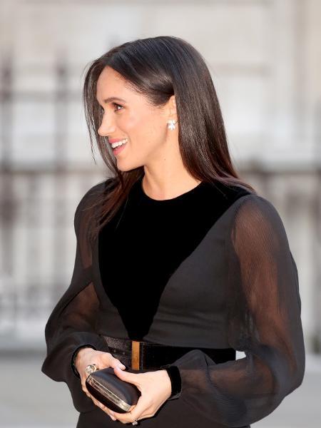 Meghan Markle durante visita à Royal Academy of Art, em Londres - Getty Images