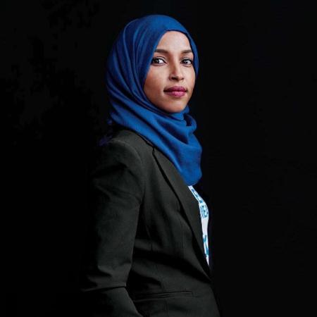 Ilham Omar, primeira congressista americana a usar hijab - Reprodução