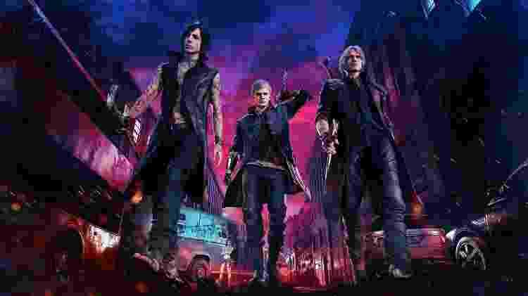 """""""Devil May Cry V"""" terá músicas tocadas por orquestra ao vivo no The Game Awards. - Reprodução"""