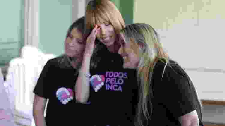 Ana Furtado se emociona após fazer doação ao INCA - Ag.News - Ag.News
