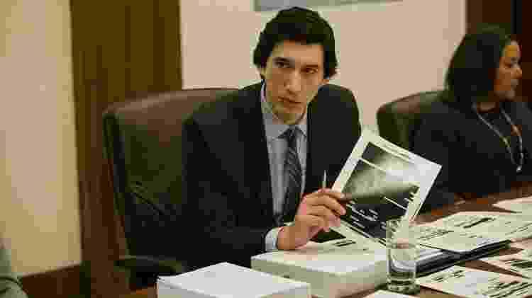 """Adam Driver em cena de """"The Report"""" - Divulgação/Atsushi Nishijima - Divulgação/Atsushi Nishijima"""