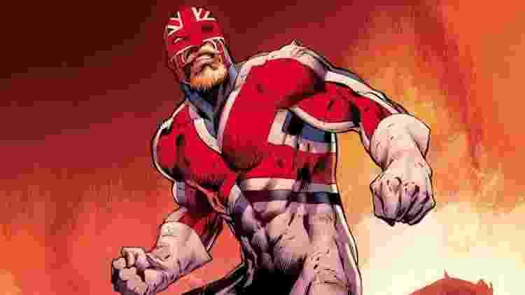 Brian Braddock, o Capitão Britânia - Reprodução - Reprodução