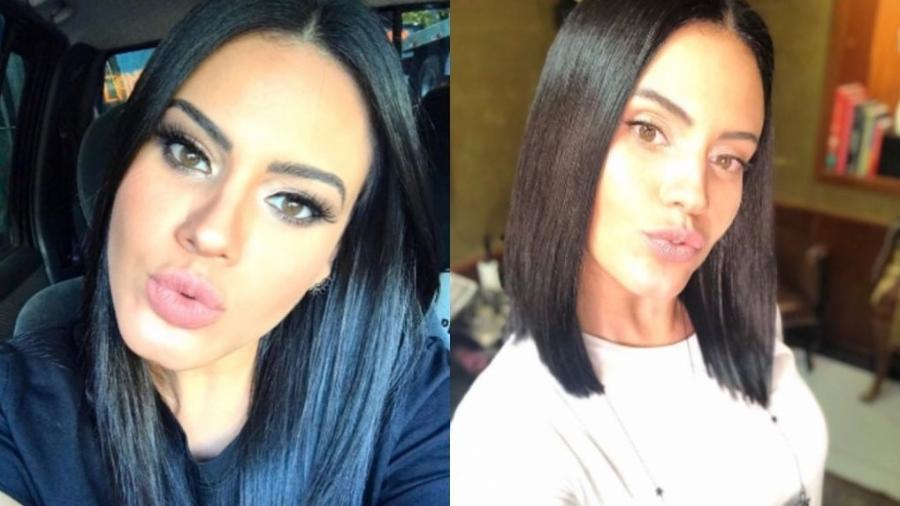 Antes e depois de Leticia Lima - Reprodução/Instagram