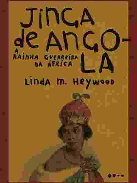 """""""Jinga de Angola - a rainha guerreira da África"""", de Linda M. Heywood, acaba de ser lançado pela editoria Todavia - Divulgação"""