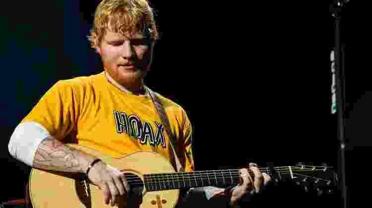 "Ed Sheeran apresenta a turnê ""Divide"" para São Paulo - Flavio Moraes/UOL - Flavio Moraes/UOL"