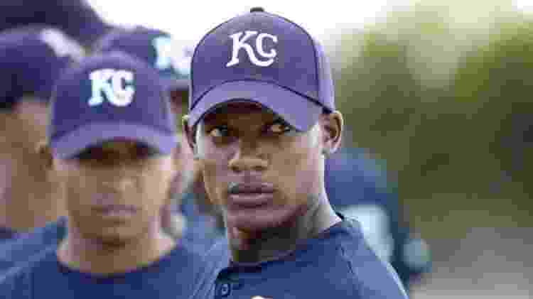 """Algenis Pérez Soto em cena de """"Sugar"""", em que interpretou um jogador de beisebol dominicano  - Reprodução - Reprodução"""