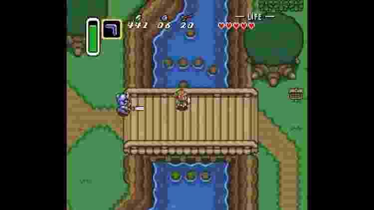 Zelda Link to The Past - Reprodução - Reprodução