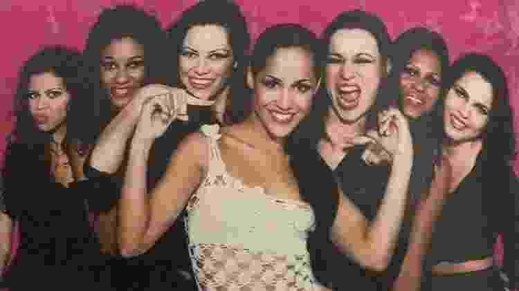 A banda As Meninas era formada só por mulheres - Reprodução/ Instagram