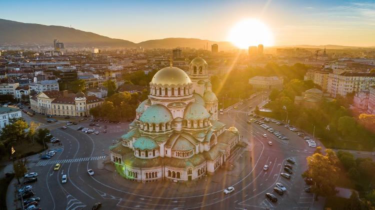 Catedral Alexander Nevski, em Sofia, Bulgária - Getty Images