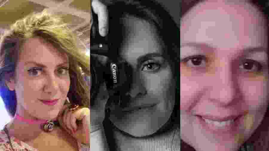Márcia, Kakau e Ana Paula deram uma guinada na carreira após terminarem seus relacionamentos abusivos - Arquivo pessoal
