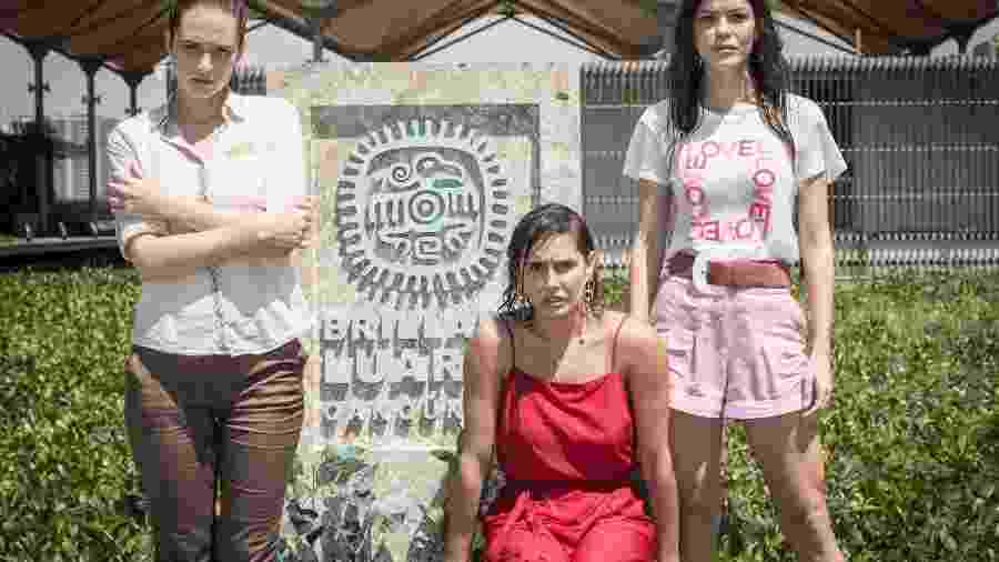 Alexia, Luna e Kira descobrem que Donato foi morto na prisão - Globo/João Miguel Júnior