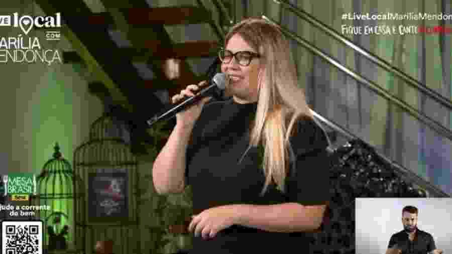 Live de Marília Mendonça bate recorde com 3,2 milhões de visualizações simultâneas - Reprodução/Youtube