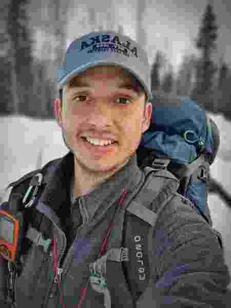 Gabriel no Alasca - Arquivo pessoal - Arquivo pessoal