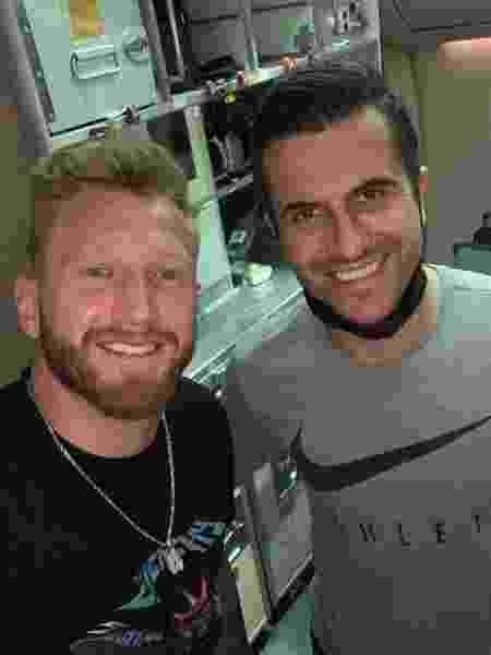 Alemão e Marcelo Grohe atuam no futebol saudita - Arquivo pessoal - Arquivo pessoal