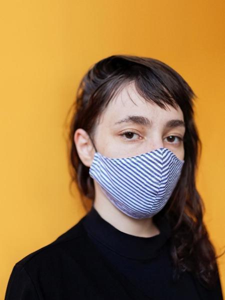 Máscara de pano da Meu Universo: alternativa na pandemia - Reprodução Instagram/@meuuniverso__