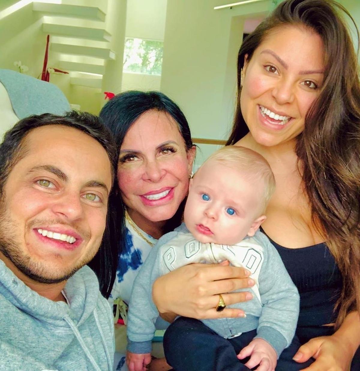 Thammy Miranda, Gretchen, Andressa Ferreira e Bento