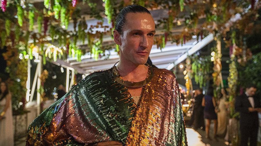 Dudu Bertolini no Baile no Copacabana Palace, em janeiro de 2016 - Marlene Bergamo - 22.jan.2016/Folhapress