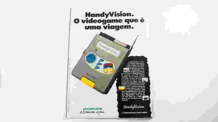 HandyVision portátil - Reprodução - Reprodução