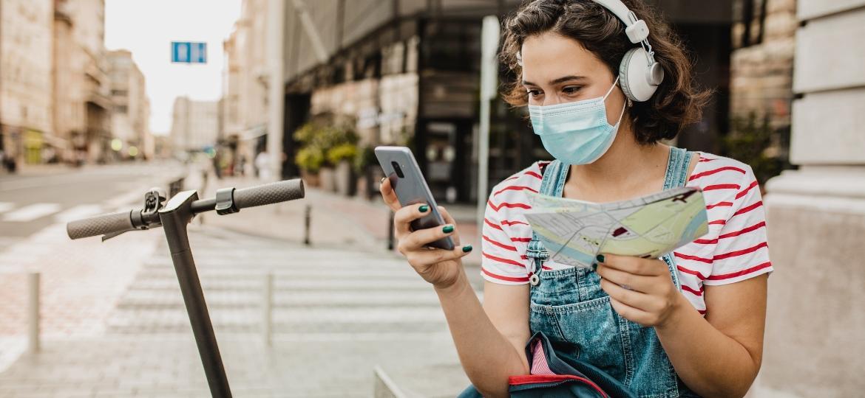Um olho no mapa, outro no roteiro: apps propõe mistérios para explorar as cidades - Getty Images