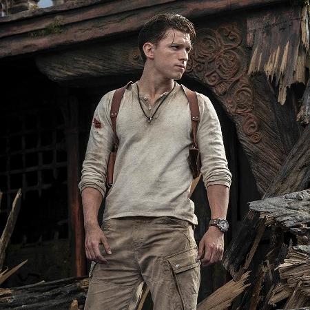 """Tom Holland vai viver o personagem Nathan Drake em """"Uncharted"""" - reprodução/Twitter"""