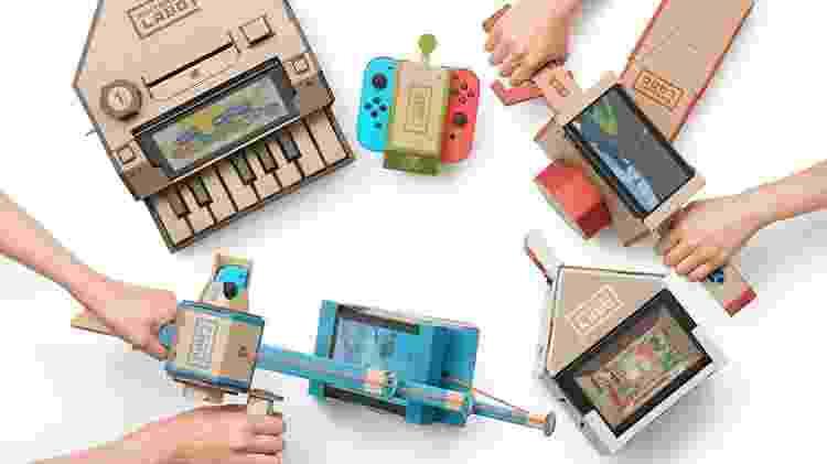 Nintendo Labo - Divulgação/Nintendo - Divulgação/Nintendo