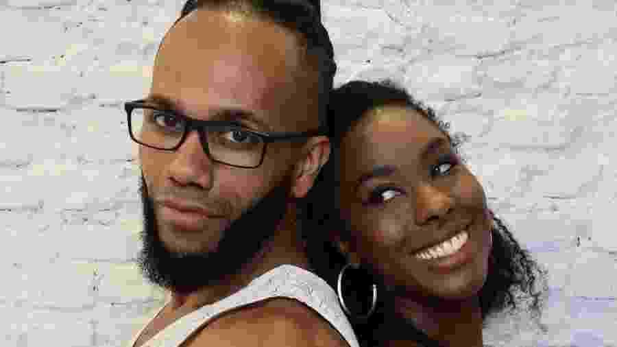 Eu e meu marido: quantos homens negros que se relacionam com mulheres mais escuras que eles você conhece? - Arquivo Pessoal