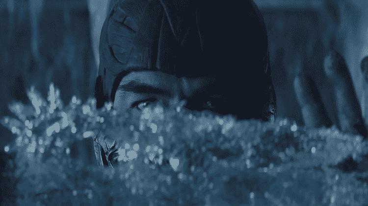 Sub-Zero em cena do novo 'Mortal Kombat' - Reprodução - Reprodução