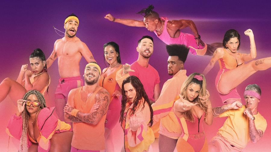 """Os participantes da segunda temporada do """"De Férias com o Ex Brasil: Celebs"""" - Divulgação / MTV"""
