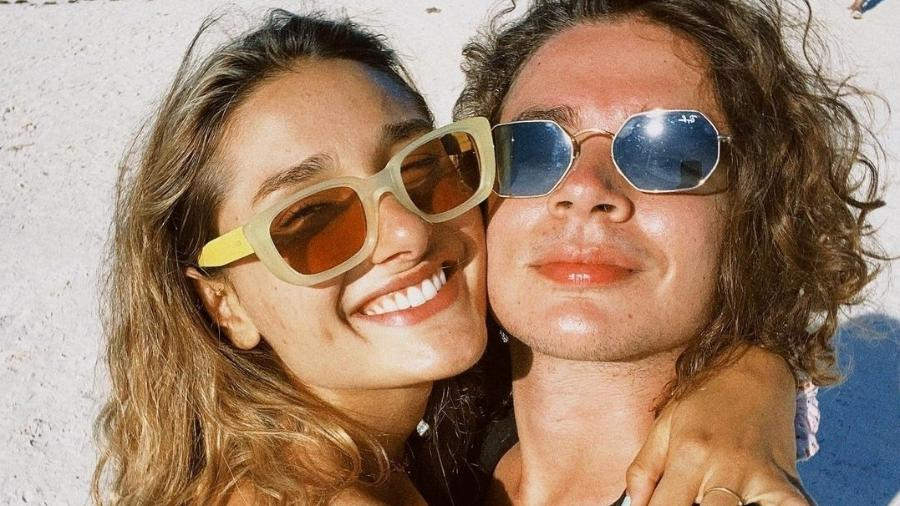 Sasha ao lado do marido, João Figueiredo - Imagem: Reprodução/Instagram@sashameneghel