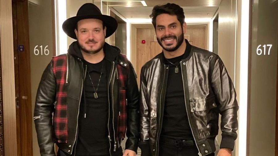 Israel e Rodolffo vão estrear música com Safadão no Caldeirão do Huck - Reprodução/Instagram@israelerodolffo