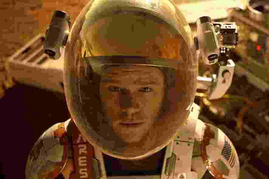 """Cena do filme """"Perdido em Marte"""", de Ridley Scott - Divulgação"""