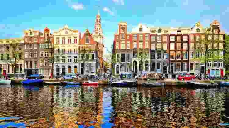 Amsterdã, capital da Holanda - Getty Images - Getty Images