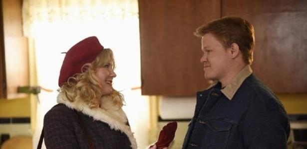 """Kirsten Dunst e Jesse Plemons foram premiados pela segunda temporada de """"Fargo"""" - Divulgação"""