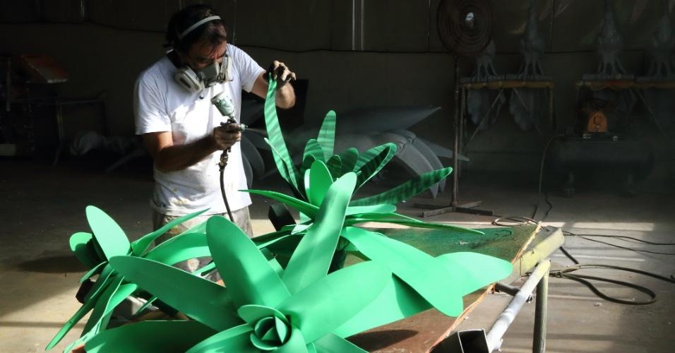 """Neste ano, a Unidos da Tijuca vai cantar """"Semeando sorriso, a Tijuca festeja o solo sagrado"""""""