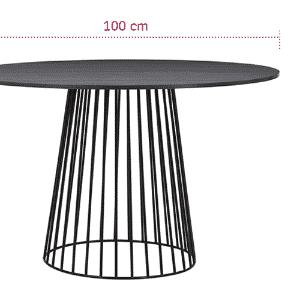 """Uma mesa redonda é uma ótima pedida para quem tem a sala de jantar pequena, porque o formato """"economiza"""" espaço. Gosta de decorações contemporâneas ou minimalistas? Opte por uma peça com uma base moderna como a do móvel C401 da Carbono (www.carbonodesign.com.br), desenhado por Rodrigo Ferreira - Divulgação/ Arte UOL"""