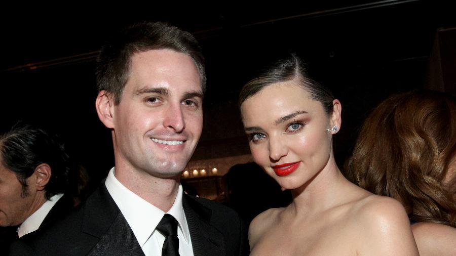 Evan Spiegel e Miranda Kerr vão se casar neste ano - Tommaso Boddi/Getty Images for Baby2Baby