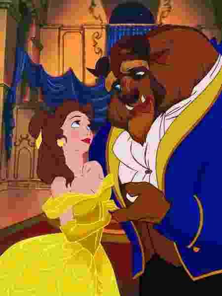 """Cena da animação """"A Bela e a Fera"""" (1991), da Disney - Divulgação"""