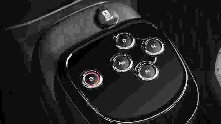 Comandos do câmbio GSR-Comfort são os mesmos do Dualogic Plus do Uno: por botões - Divulgação - Divulgação