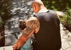 """""""The Rock"""" mostra que pai """"machão"""" também pode ter coração feminista - Reprodução/Instagram"""