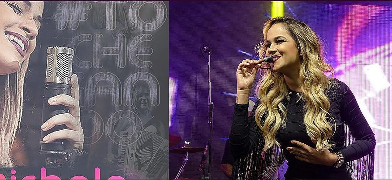 Michele Andrade, ex-vocalista do Limão com Mel, é nova parceira de Ximbinha na X-Calypso - Site oficial Michele Andrade