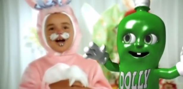 Propaganda de Páscoa do refrigerante Dolly que havia sido suspensa pelo Conar