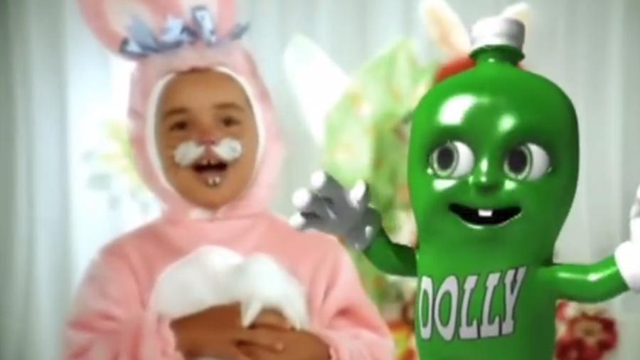 Propaganda de Páscoa do refrigerante Dolly foi suspensa pelo Conar - Reprodução