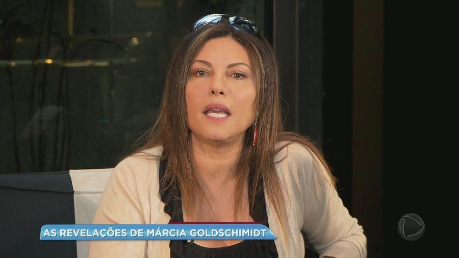 """Márcia Goldschmidt é entrevistada no programa """"Balanço Geral"""", da Record - Reprodução/Record"""