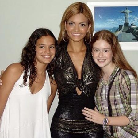 Bruna Marquezine, Kelly Key e Marina Ruy Barbosa em 2008 - Reprodução/Instagram