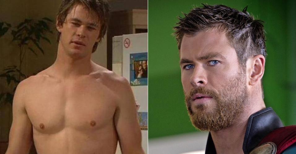 O australiano Chris Hemsworth já tinha um jeitão de surfista maroto antes de virar Thor. Agora, ele virou um deus nórdico