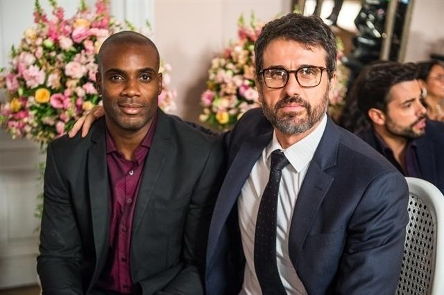 Cido (Rafael Zulu ) e Samuel (Eriberto Leão)